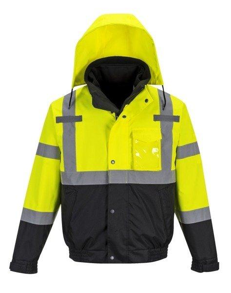 d5eaffb25eb78a Kurtka robocza odblaskowa Premium 3w1 Portwest | Ubrania robocze ...