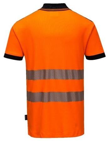 Koszulka robocza odblaskowa polo Portwest