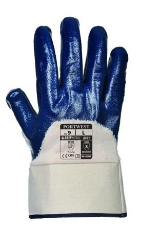 Rękawice nitrylowe A301 Portwest