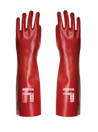 Rękawice robocze PCV 45cm A445 Portwest