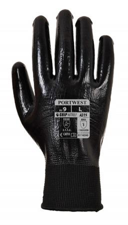 Rękawice robocze lekkie nitrylowe A315 Portwest
