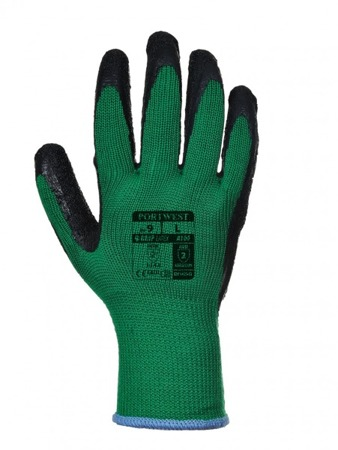 Rękawice robocze powlekana najwyższej jakości lateksem A100 Portwest