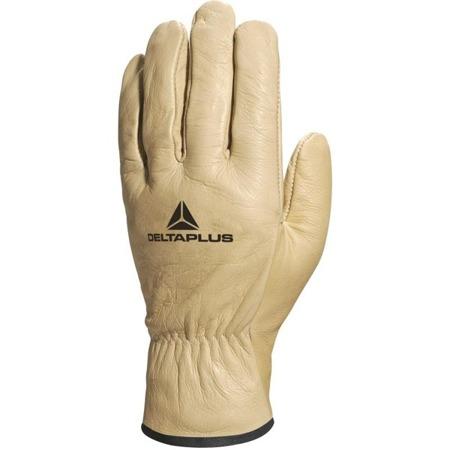 Rękawice robocze skórzane DELTAPLUS