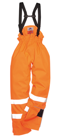 Spodnie odblaskowe trudnopalne S780 Portwest