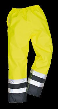 Spodnie robocze odblaskowe przeciwdeszczowe S486 Portwest
